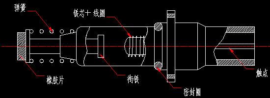 热电偶电磁阀结构图