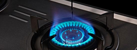 燃气灶蓝焰