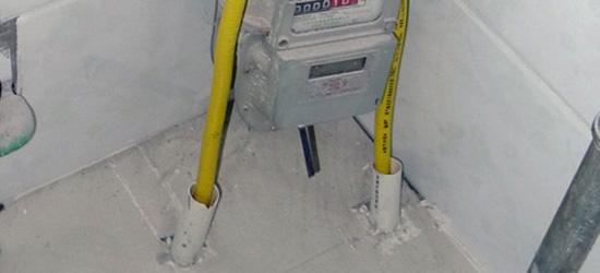 改水电的时候燃气灶部分该如何预埋管线?