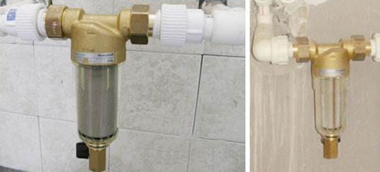 装修中前置净水器过滤器该怎么安装?谁来安装?