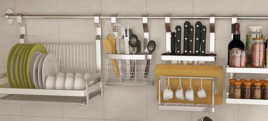 厨房置物架什么材质好?不锈钢or太空铝