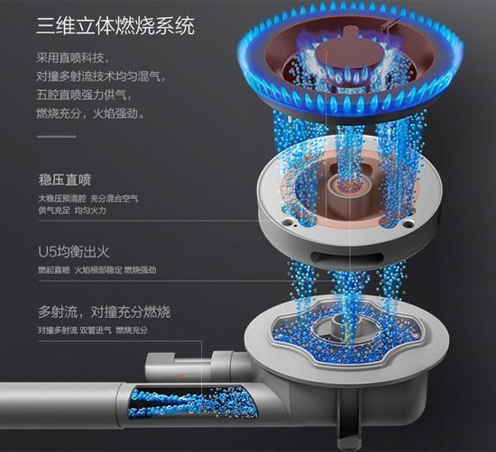 三维立体燃烧系统